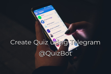 How to create Educational quiz in Telegram (@QuizBot)
