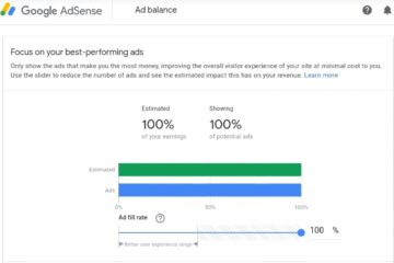 Google Adsense Ad balance is being retired