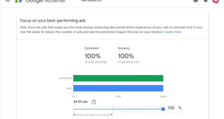 Google Adsense Ad balance is being retired