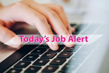 Today's Job Alert – 02.01.2021
