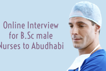 ODEPC Conducts Online Interview for B.Sc male Nurses to Abudhabi