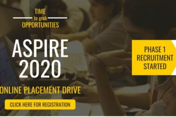 ASPIRE 2020 – Placement Drive