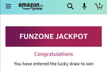 Amazon Funzone Jackpot and Holi Edition Quiz Answers- Win Canon DSLR Camera