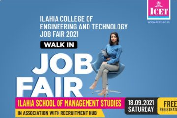 Job Fest 2021 at Ilahia College of Engineering and Technology